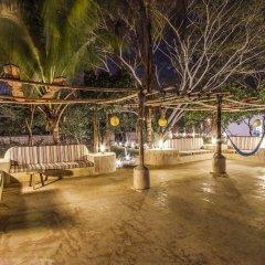 Отель Hacienda Santa Cruz пляж фото 2
