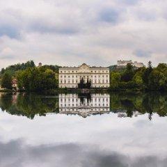 Отель Schloss Leopoldskron Meierhof Зальцбург приотельная территория