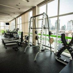 Отель Lohas Residences Sukhumvit Бангкок фитнесс-зал фото 2
