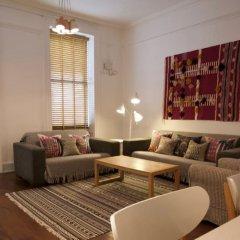 Апартаменты Gower Street Apartments Лондон комната для гостей фото 4