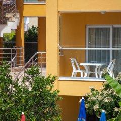 Begonville Apart Hotel Сиде балкон