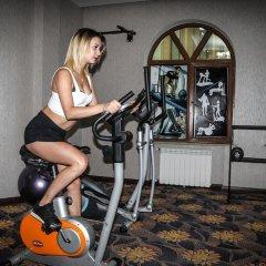 Отель Сафран фитнесс-зал фото 2