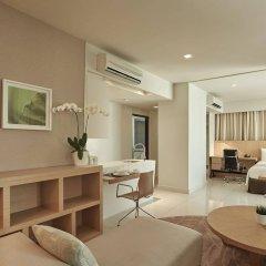 Отель PARKROYAL Serviced Suites Kuala Lumpur Малайзия, Куала-Лумпур - 1 отзыв об отеле, цены и фото номеров - забронировать отель PARKROYAL Serviced Suites Kuala Lumpur онлайн комната для гостей фото 5