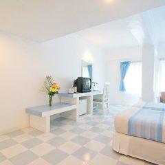 Отель Ambassador City Jomtien (MARINA TOWER WING) На Чом Тхиан комната для гостей фото 2