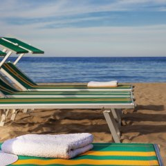 Отель Suite Litoraneo Римини пляж фото 2