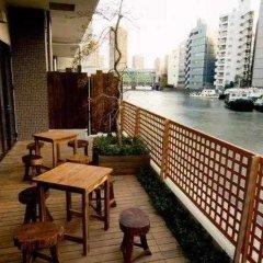 Отель Dormy Inn Tokyo-Hatchobori Natural Hot Spring балкон