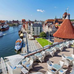 Отель Hilton Gdansk балкон
