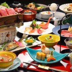 Отель Yumeminoyado Kansyokan Синдзё питание