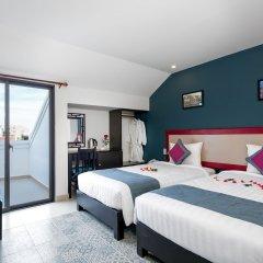 Отель Hoi An Golden Holiday Villa комната для гостей фото 4