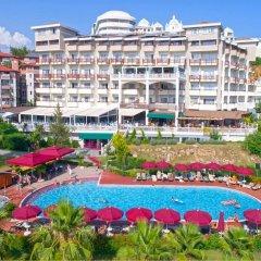 Justiniano Deluxe Resort Турция, Окурджалар - отзывы, цены и фото номеров - забронировать отель Justiniano Deluxe Resort онлайн бассейн