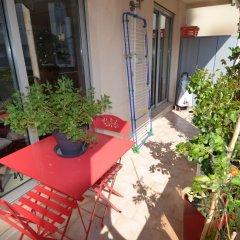Отель MyNice Rouge Indien Франция, Ницца - отзывы, цены и фото номеров - забронировать отель MyNice Rouge Indien онлайн балкон