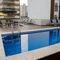 San Nicolas Plaza Hotel Сан-Николас-де-лос-Арройос бассейн