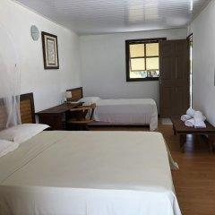 Отель Hakamanu Lodge Французская Полинезия, Тикехау - отзывы, цены и фото номеров - забронировать отель Hakamanu Lodge онлайн комната для гостей фото 2
