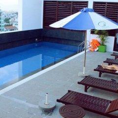 Отель Nhi Phi Нячанг бассейн фото 3