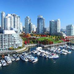 Отель Opus Hotel Канада, Ванкувер - отзывы, цены и фото номеров - забронировать отель Opus Hotel онлайн приотельная территория фото 2