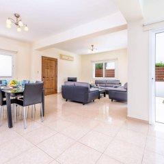 Отель Villa Zacharia Кипр, Протарас - отзывы, цены и фото номеров - забронировать отель Villa Zacharia онлайн комната для гостей фото 4