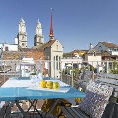 Отель Rössli Швейцария, Цюрих - отзывы, цены и фото номеров - забронировать отель Rössli онлайн балкон