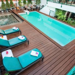 Отель Pinnacle Lumpinee Park Бангкок бассейн фото 2
