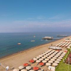 Maritim Pine Beach Resort Турция, Белек - отзывы, цены и фото номеров - забронировать отель Maritim Pine Beach Resort онлайн пляж фото 2