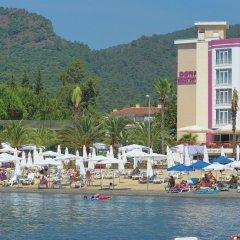 Dora Beach Hotel пляж фото 2