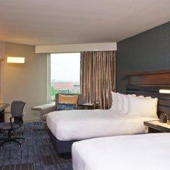 Отель Hilton Newark Airport США, Элизабет - отзывы, цены и фото номеров - забронировать отель Hilton Newark Airport онлайн комната для гостей