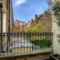 Отель Pont Street Mews Townhouse Великобритания, Лондон - отзывы, цены и фото номеров - забронировать отель Pont Street Mews Townhouse онлайн балкон