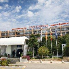 Отель Apartamentos Roc Portonova пляж