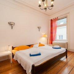 Отель Doppelzimmer am Hansaplatz Германия, Гамбург - отзывы, цены и фото номеров - забронировать отель Doppelzimmer am Hansaplatz онлайн комната для гостей фото 4