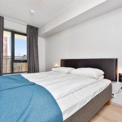 Апартаменты Forenom Serviced Apartments Oslo Majorstuen комната для гостей