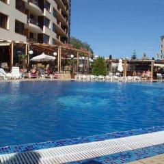 Отель Aparthotel Poseidon пляж