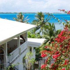 Отель Bora Vaite Lodge Французская Полинезия, Бора-Бора - отзывы, цены и фото номеров - забронировать отель Bora Vaite Lodge онлайн пляж фото 2