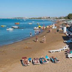 Dosi Hotel Турция, Сиде - отзывы, цены и фото номеров - забронировать отель Dosi Hotel - All Inclusive онлайн пляж