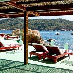 Отель Boca Chica Мексика, Акапулько - отзывы, цены и фото номеров - забронировать отель Boca Chica онлайн пляж фото 2