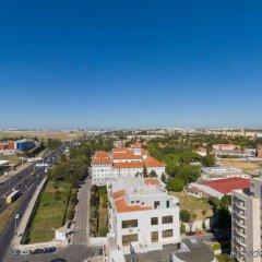 Отель Radisson Blu Hotel Португалия, Лиссабон - 10 отзывов об отеле, цены и фото номеров - забронировать отель Radisson Blu Hotel онлайн балкон