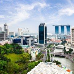 Отель Novotel Singapore Clarke Quay балкон