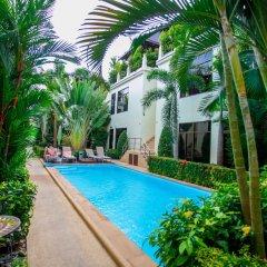 Palm Oasis Boutique Hotel бассейн фото 5