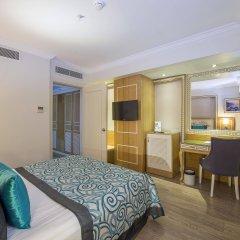 Отель Crystal Waterworld Resort And Spa Богазкент комната для гостей фото 3