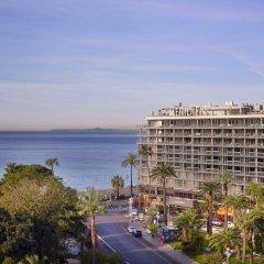 Отель Le Meridien Nice Франция, Ницца - 11 отзывов об отеле, цены и фото номеров - забронировать отель Le Meridien Nice онлайн пляж