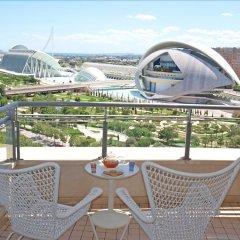 Отель ApartUP Blue Opera View Испания, Валенсия - отзывы, цены и фото номеров - забронировать отель ApartUP Blue Opera View онлайн балкон
