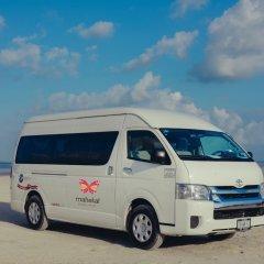 Отель Mahekal Beach Resort городской автобус