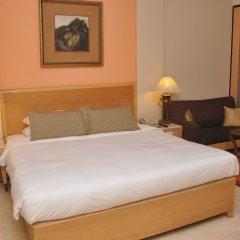 The Hans Hotel New Delhi комната для гостей