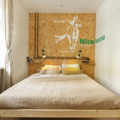 Nice Hostel Павелецкая Москва комната для гостей
