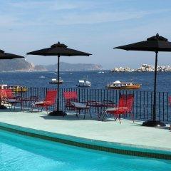 Отель Boca Chica Мексика, Акапулько - отзывы, цены и фото номеров - забронировать отель Boca Chica онлайн бассейн фото 2
