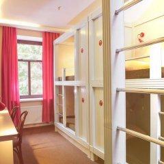 Хостел Привет Кровать в женском общем номере двухъярусные кровати фото 11