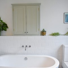 Отель Beautiful Seven Dials Family House Великобритания, Брайтон - отзывы, цены и фото номеров - забронировать отель Beautiful Seven Dials Family House онлайн ванная фото 2