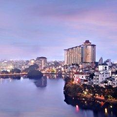 Отель Pan Pacific Hanoi (ex. Sofitel Plaza) Ханой приотельная территория