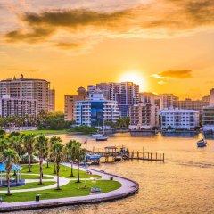 Отель Comfort Suites Sarasota - Siesta Key пляж фото 2