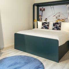 Отель Qbic Brussels Hotel Бельгия, Брюссель - отзывы, цены и фото номеров - забронировать отель Qbic Brussels Hotel онлайн комната для гостей фото 5