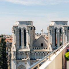 Отель Mercure Centre Notre Dame Ницца балкон
