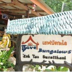 Отель Save Bungalow Koh Tao с домашними животными